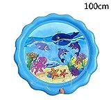 ERT Trampolin Sprinkleranlage Im Freien Wasser Spiele Sprinkler Außerhalb Spielzeug Wasserspielzeug...