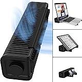 TATE GUARD Multifunktionaler Lüfter+Ständer,Verstellbarer 3-Gang-USB-Cross-Flow-Laptop-Kühler,...
