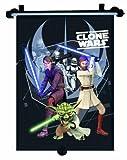Star Wars 26110 - Clone Wars Sonnenschutzrollo (1 Stück) 33 x 56 cm