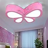 Malovecf Kinderzimmer Deckenleuchte Schlafzimmer Lampe LED kreative Schmetterling Beleuchtung...