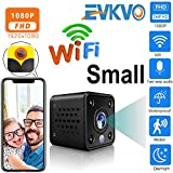 EVKVO HD 1080P Mini WiFi IP Camera Built-in Battery CCTV Wireless Security HD Surveillance Micro Cam...