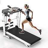 DODOBD Faltbares Laufband, Kompakte Laufbänder für Das Heimbüro-Fitnessstudio Kleine Räume...