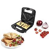 HTD Deep Fill Sandwich Maker 750W Waffelmacher, Panini-Hersteller, Toastie-Hersteller mit...