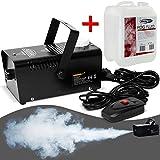 Monzana Nebelmaschine mit Nebelfluid Smoke Fog Effekt Heimnebelmaschine I 400W I mit Fernbedienung I...
