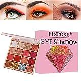 Lidschatten Palette, Eyeshadow Palette, Lidschatten Glitzer, Lidschattenpalette, Halloween Use...