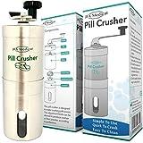 JFA Medical Pillenmahler/Zerkleinerer – zerkleinert mehrere Tabletten/Pillen in ein feines Pulver.