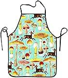 NA Strapazierfähiges Küchenschürzen-Lätzchen aus Polyester für Kinder und Frauen, einzigartige...
