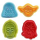 GWHOLE Fondant Ausstecher Star Wars Ausstechformen Plätzchenformen Backformen Keks Cookie Cutters...