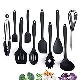 Adkwse Küchenset Silikon, Kochbesteck Set Advanced Hitzebeständige Küchengeräte Kochzubehör...