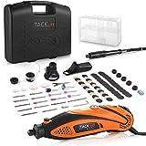 Multifunktionswerkzeug, Tacklife Drehwerkzeug, einstellbare Drehzahl mit 80 Zubehr und 4 Aufstze,...