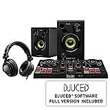 Hercules DJLearning Kit (2-Deck DJ Controller, 2.0 Lautsprecher, DJ-Kopfhörer)