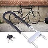 Gaeirt Anti-Diebstahl-Bügelschloss aus dickem Stahl, robust, zum Abschließen von Fahrrädern usw