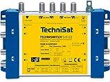 TechniSat TECHNISWITCH 5/8 G2, Multischalter / Verteiler (fr bis zu 8 Teilnehmer, 100m Entfernung...