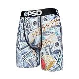PSD Unterhose für Herren, Stretch, elastisch, breites Band, Boxershorts – Geld   atmungsaktiv,...