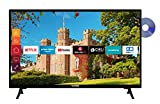 Telefunken XH24J501D 24 Zoll Fernseher (Smart TV inkl. Prime Video / Netflix / YouTube, HD ready,...