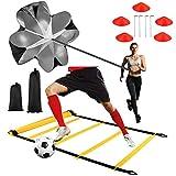 Cupinyo Speed Agility Training Kit, Fußball Trainingsset, fußball trainingsgeräte set - Inklusive...