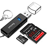USB 3.0 Kartenleser, Beikell Highspeed SD/Micro SD Kartenlesegerät - Unterstützt SD / Micro SD /...