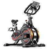 AMBM Heimtrainer Spinning Bike Indoor Studio Fahrrad Trainer Bike Fitness Cycling mit verstellbarem...
