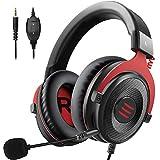 Taoke Xbox EIN, Gaming, PC-Gaming Kopfhrer mit Noise-Cancelling Mikrofon Soft-Speicher Earmuffs for...