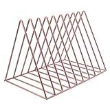 Fafalloagrron Aufbewahrungsregal fr Heimbro, Metall, Bcherregal, modern, knstlerisch, geometrische...