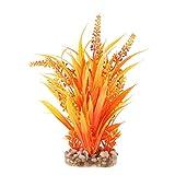 Foru-1 Kunststoffpflanze für Aquarien, Gras