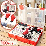 Multifunktionswerkzeug Set mit Zubehör - 12000 U/min, 12v, variable Drehzahleinstellungen, 160...