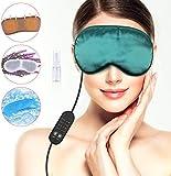 Lavendel Seide Beheizte Augenmasken USB Schlafmaske Warm Steam Dry Augenmaske Elektroheizung Hot Eye...