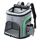 GXFCQKDSZX Haustierrucksack Haustierreiserucksack Welpentragetasche Tragbare Hundetasche Tragen