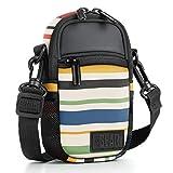 USA Gear Kompakte Kameratasche Point und Shoot mit Zubehörtaschen, Regenschutz und Schultergurt -...