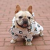 zzyysd Hunde wasserdichte Jacke, leichte wasserdichte Jacke Reflektierende Sicherheit Hund...