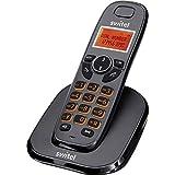 Switel Single DECT Schnurloses Telefon analog Freisprechen Schwarz