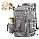 XXDYF Haustier Tasche Transport Tragbar, Schultergurt Haustier Rucksack Für Kleine Hunde Und...