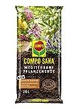 Compo SANA Mediterrane Kübelpflanzenerde mit 12 Wochen Dünger für alle mediterranen Pflanzen,...