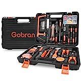 Werkzeugset im Koffer Haushalts Werkzeugkoffer 100 Teilig,Gobran Multifunktion Werkzeugkasten für...