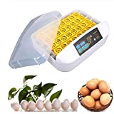 SISHUINIANHUA 32 Eggs Digital Automatic Turning Inkubator Hatcher Temperaturregelung Huhn