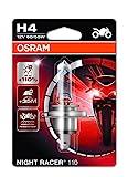 Osram NIGHT RACER 110, Motorrad-Scheinwerferlampe, 64193NR1-01B, 12V, Einzelblister