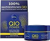 NIVEA Q10 Power Anti-Falten + Straffung Nachtpflege für jünger aussehende Haut im 1er Pack (1 x 50...