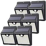 【6 Stück/150 LED】Solarlampen für Außen, Feob Solarlampe Bewegungsmelder Solarleuchte...