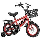 LLF Kinderfahrräder, Kinderfahrrad, Pedal-Fahrrad Kinder-Bike-Jungen Mit Trainingsrädern,...