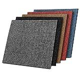 Design Teppichfliesen Kairo 50x50 cm selbstliegend - 1 m² Set - strapazierfähiger Teppich...