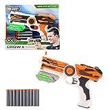 Tack Pro Blaster, Spielzeugblaster Spielzeugpistole Einzelschusswaffe mit 6 Darts Pfeile Blaster Set...