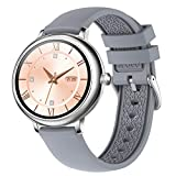 N/W Full Touch Smart Watch Frauen IP67 wasserdicht Blutdruck Herzfrequenzmesser Runde Smartwatch...