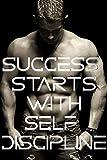 "Trainingsposter ""Success Starts with Self Discipline"", inspirierender Workout-Druck, 45,7 x 30,5..."