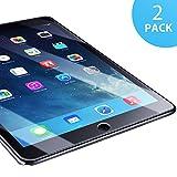 SUERW Panzerglasfolie Kompatibel mit iPad Air 1/ Air 2/ iPad Pro 9.7 - 2 Stck Schutzfolie Kompatibel...