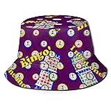 Bingo Handtasche Bucket Hat Unisex Sonnenhut Fischer Packable Trave Cap Fashion Outdoor Hat