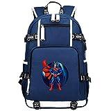 GOYING My Hero Academia Midoriya Izuku/All·Might Anime Laptop Rucksack Tasche Travel Laptop...