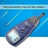 ZGQA-GQA Digitale Tachometer, SM6236E Laser/Kontakt Messgeschwindigkeit Tach Meter Beschleunigt Mess...