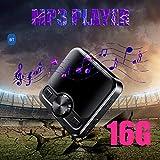 BRANDNEWS HiFi MP3 Bluetooth Outdoor-Sport-Spieler 8G geräuschlos IPX6 schweißbeständig, mit...