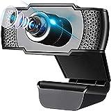 Aibeau Webcam Full HD 1080P mit Mikrofon und PC-Kamera USB 2.0 Plug & Play für Laptop, Computer,...