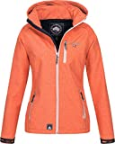 Geographical Norway Damen Funktions Softshelljacke Tassima abnehmbare Kapuze Coral M